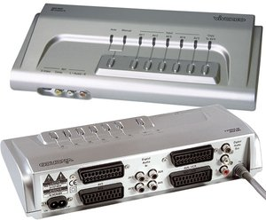 Vivanco SBX95SE AV-Control 4 SCART switch 4-port (15366)