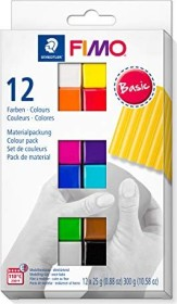 Staedtler Fimo Soft Materialpackung 300g basic (8023 C12-1)