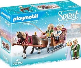 playmobil Spirit - Riding Free - Winterliche Schlittenfahrt (70397)
