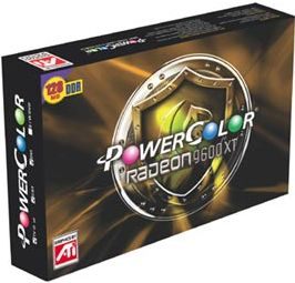 PowerColor Radeon 9600 XT, 128MB DDR, VGA, DVI, TV-out, AGP (XR96T-C3)
