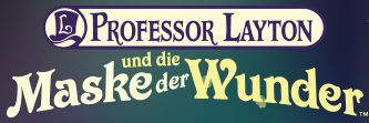 professor Layton and the Mask of Miracle (German) (3DS)