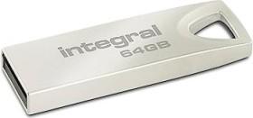 Integral Metal Arc 64GB, USB-A 2.0 (INFD64GBARC)