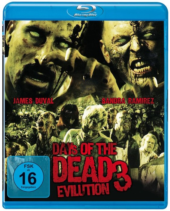 Days Of The Dead 3 - Evilution (Blu-ray)