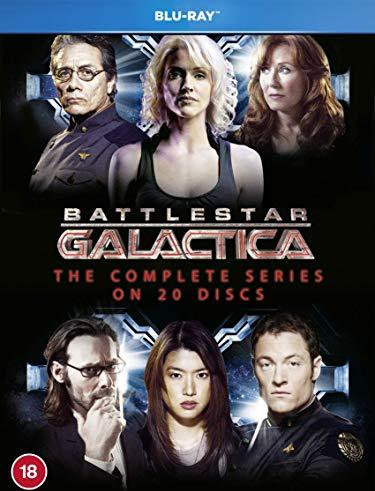 Battlestar Galactica Box (Season 1-4) (Blu-ray) (UK) -- via Amazon Partnerprogramm