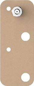 tesa Klebeschraube rechteckig braun für Mauerwerk und Stein, 10.00kg Tragkraft, 2 Stück (77908-00000)