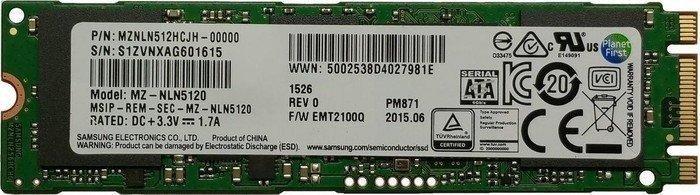 Samsung SSD PM871a 256GB, M.2 (MZNLN256HMHQ-00000)