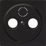 Gira S-Color Abdeckung für Koaxial-Antennensteckdose, reinweiß (0869 47)