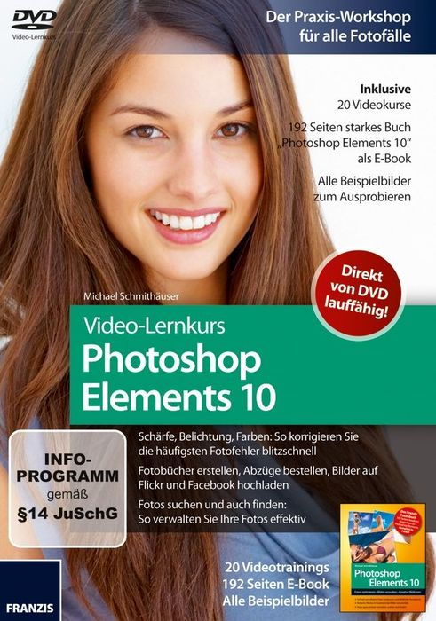 Franzis: Video-Lernkurs Photoshop Elements 10 (deutsch) (PC/MAC)