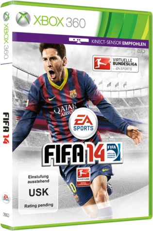 how to play fifa 14 with kinect xbox 360