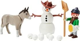 playmobil Spirit - Riding Free - Schneespaß mit Snips und Herrn Karotte (70398)
