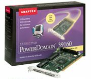Adaptec PowerDomain APD-39160 LVD, 64bit PCI, Kit (MAC) (1827500)