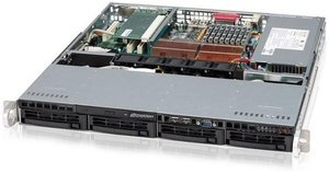 Dimotion Pronector DR510, Xeon DP X5550 4x 2.67GHz, 8GB RAM (SEDR510A)