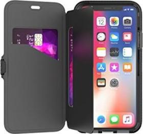 tech21 Evo Wallet für Apple iPhone X schwarz (T21-5860)