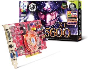 MSI MS-8912 FX5600XT-VTDR128, GeForceFX 5600XT, 128MB DDR, DVI, ViVo, AGP