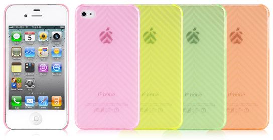 Luxa2 Icicle for Apple iPhone 4s yellow (LHA0069-A)