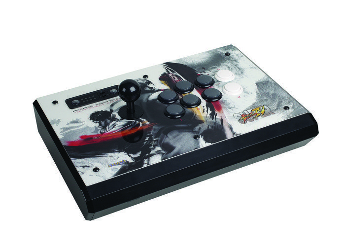 MadCatz Super Street Fighter IV FightStick - Tournament Edition, white (PS3)
