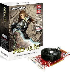 PowerColor Radeon HD 4830, 512MB DDR3, VGA, DVI, HDMI (R77CA-NE3)