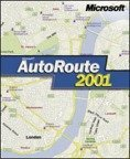 Microsoft: carroute 2001 Europe (PC) (689-00098)
