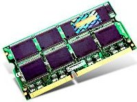 Transcend SO-DIMM 256MB PC-2700 DDR CL2.5 (DDR-333) (TS32MSD64V3F5) -- (c) DCI AG