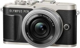 Olympus PEN E-PL9 schwarz mit Objektiv M.Zuiko digital 14-42mm EZ (V205092BE000)