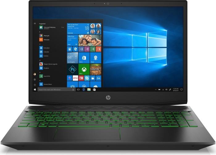 HP Gaming Pavilion 15-cx0601ng Shadow Black/Acid Green (5ES55EA#ABD)