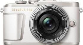 Olympus PEN E-PL9 weiß mit Objektiv M.Zuiko digital 14-42mm EZ (V205092WE000)