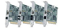Allied Telesis AT-2700FTX/SC/LP, 1x 100Base-FX/100Base-TX, PCI, low profile
