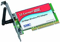 SMC 2402W Wireless 22Mbit PCI-adapter