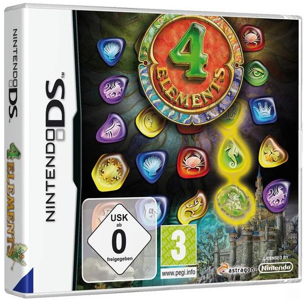 4 Elements (English) (DS)