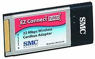 SMC 2435W wireless 22Mbit PCMCIA adapter