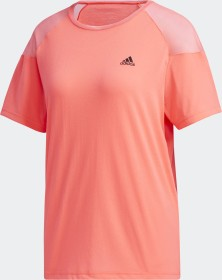 adidas Unleash Confidence Tee signal pink/black/coral (Damen) (GD4543)