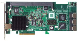 Areca ARC-1231ML, PCIe x8