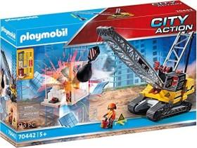 playmobil City Action - Seilbagger mit Bauteil (70442)