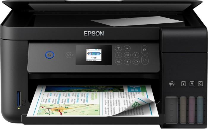 Epson EcoTank ET-2750 schwarz, Tinte (C11CG22401/C11CG22402)