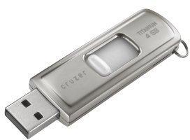 SanDisk Cruzer Titanium U3 4GB, USB-A 2.0 (SDCZ7-4096-E11)