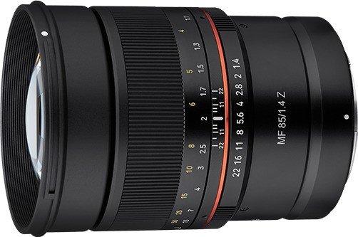 Samyang MF 85mm 1.4 Z für Nikon Z schwarz (22795)