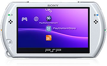 Sony Playstation portable Go!, Pearl white