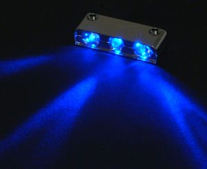 Sharkoon laser LED 3er blue