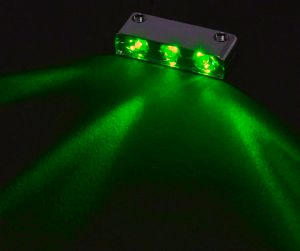 Sharkoon laser LED 3er green