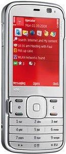 Nokia N79 canvas white/light sea blue
