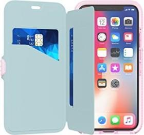 tech21 Evo Wallet für Apple iPhone X pink (T21-5861)