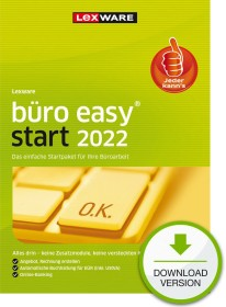 Lexware Büroeasy Start 2021 - Jahresversion, ESD (deutsch) (PC) (00978-2023)