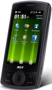 Acer beTouch E101 schwarz