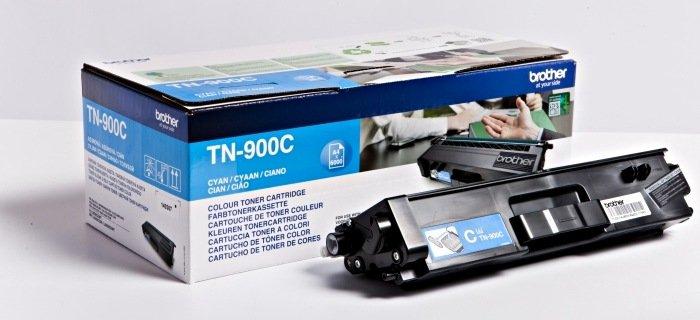 Brother TN-900C toner błękitny, sztuk 2 (TN900CTWIN)