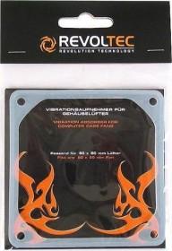 Revoltec Anti-Vibes-Rahmen für 80mm Lüfter (RZ013)