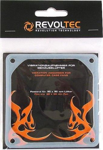 Revoltec Anti-Vibes-Rahmen für 80mm Lüfter (RZ013) -- via Amazon Partnerprogramm