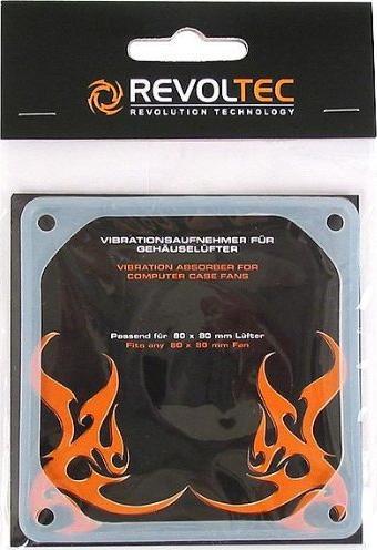 Revoltec Anti-Vibes-Frames for 80mm fan (RZ013) -- via Amazon Partnerprogramm