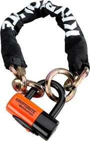 Kryptonite New York Noose with EV Disc chain lock, key