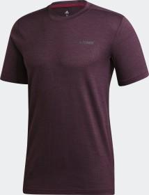 adidas Terrex Tivid T-Shirt kurzarm power berry (Herren) (GD1179)
