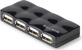 Belkin Mobile USB-Hub, 4x USB-A 2.0, USB 2.0 Mini-B [Buchse] (F5U404CWBLK)